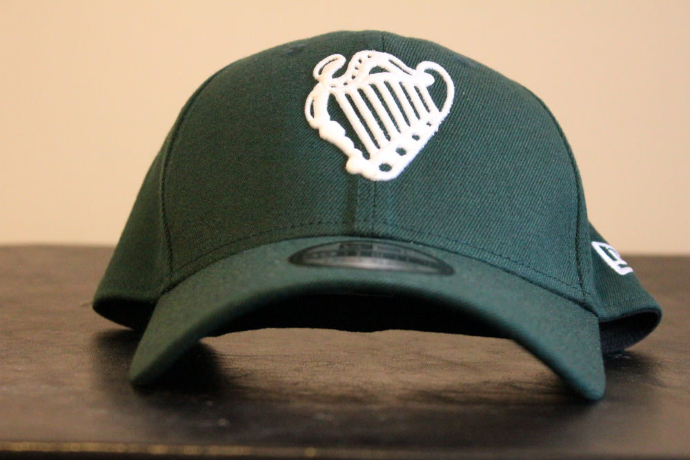 Irish National Baseball Team Cap (Front View)