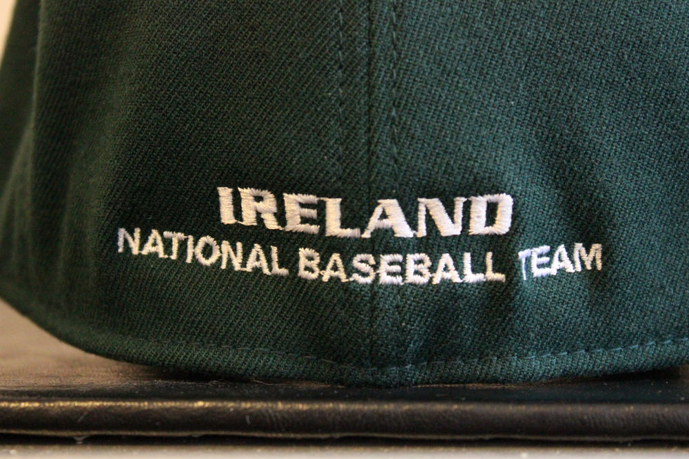 Irish National Baseball Team Cap (Back View)