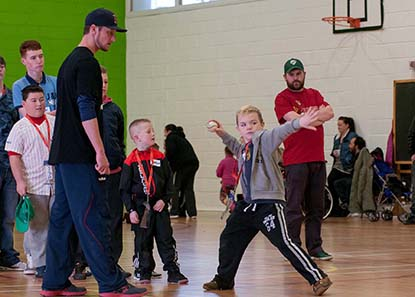 Baseball Clinics in Limerick and Ashbourne, Ireland