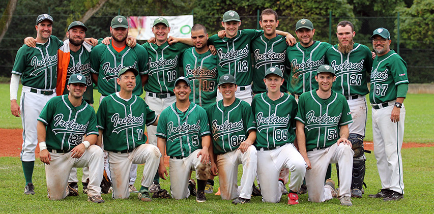 Irish National Baseball Team Team Photo