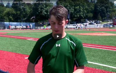 Video: Irish Catcher Paul Carey Attends Nike Baseball Camp in New York