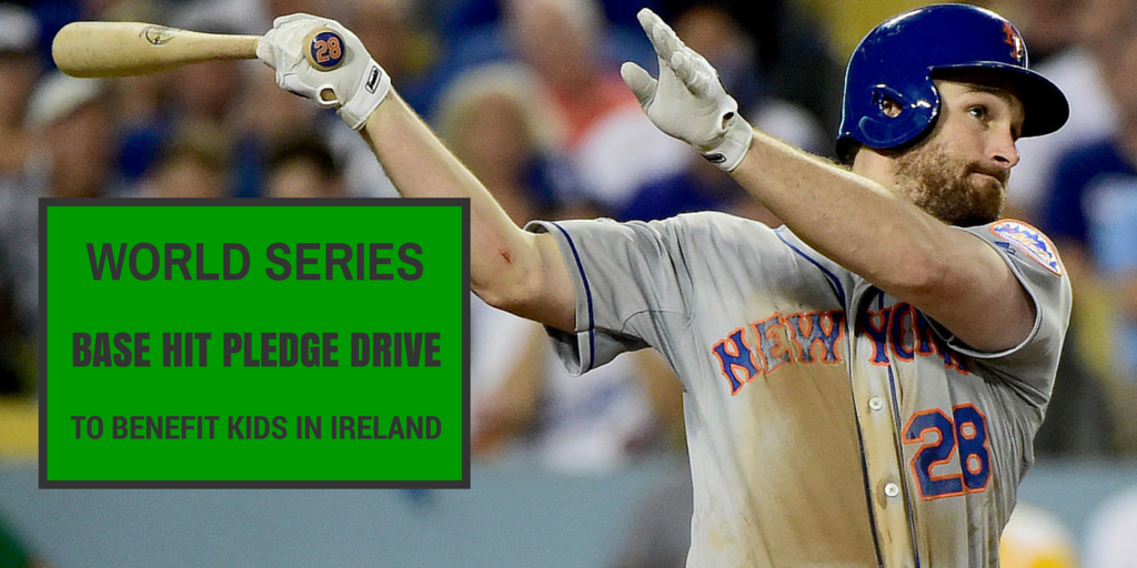 Baseball United Foundation Announces Daniel Murphy World Series Pledge Drive to Benefit Little Leaguers in Ireland