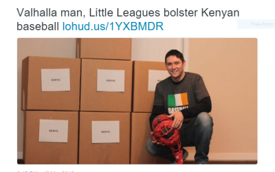 Baseball United Foundation Helps Kenyan Little League with Equipment Donation