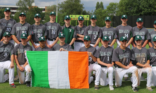 The 2018 Irish Junior National Baseball Team
