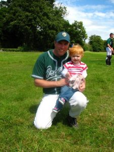 Chris Foy Ireland National Baseball Team